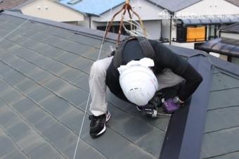 尼崎市屋根棟包み修理9