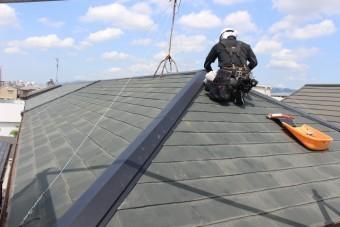 尼崎市屋根棟包み修理11