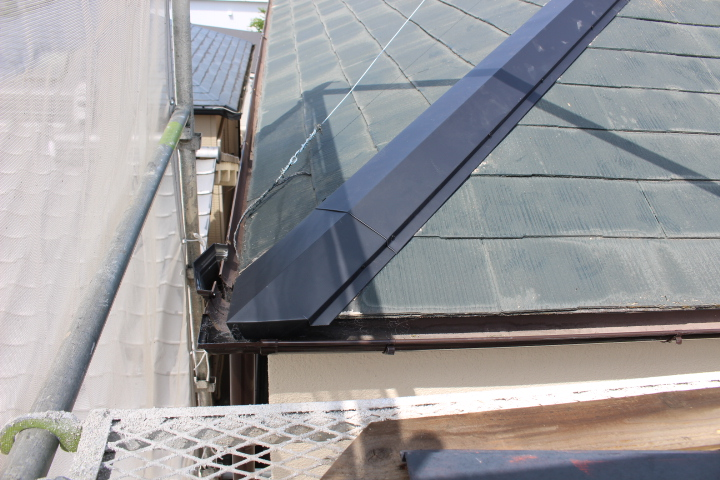 尼崎市屋根棟包み修理12