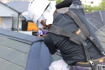 尼崎市屋根棟包み修理10