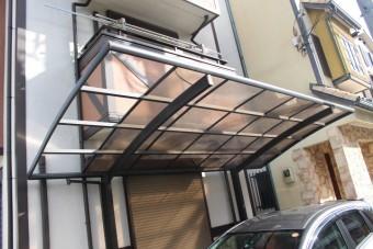 カーポート屋根修理1