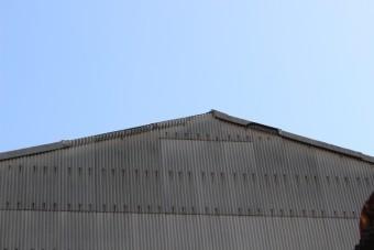 スレート屋根ケラバ修理1