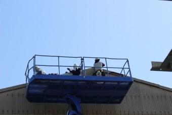 スレート屋根ケラバ修理6
