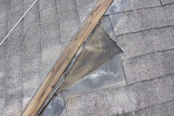 屋根棟包み修理4