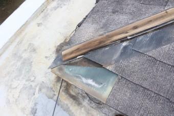屋根棟包み修理5