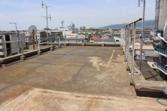 尼崎市防水工事現場調査1