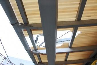 木製テラス修理4