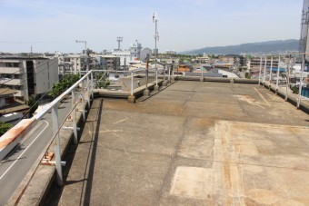尼崎市防水工事現場調査2