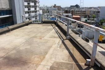 尼崎市防水工事現場調査3