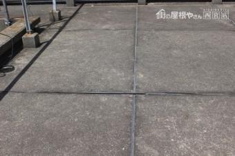 尼崎市防水工事現場調査8