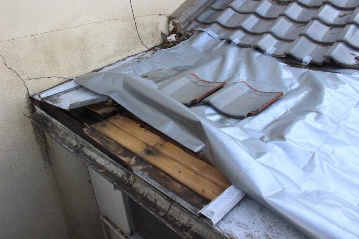 屋根部分葺き替え1