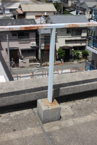 尼崎市防水工事現場調査4