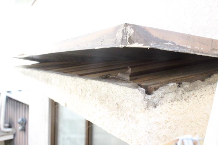 屋根笠木修理6