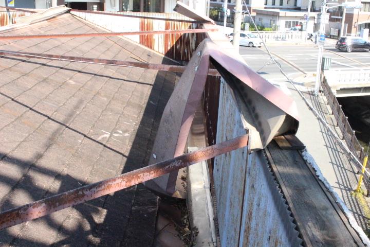 屋根笠木修理3