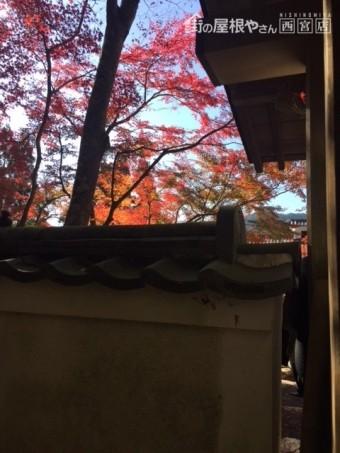 2018京都大原三千院瓦塀