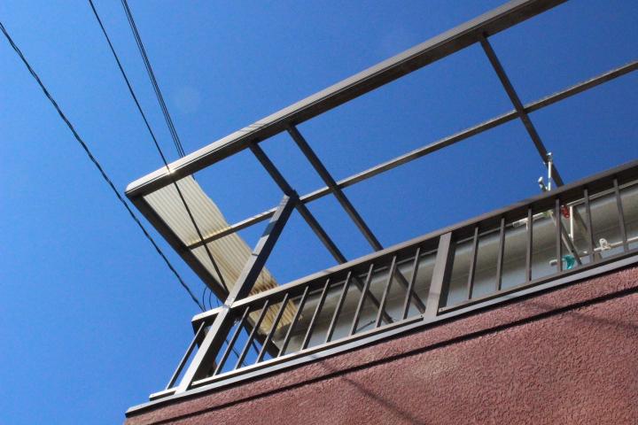 テラス屋根波板修理1