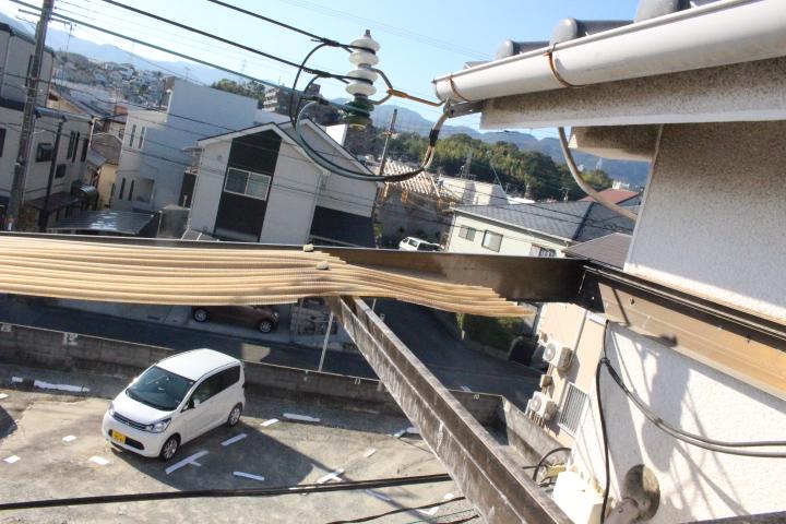 テラス屋根波板修理4