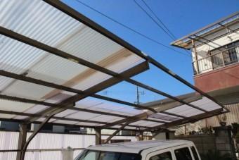 テラス屋根波板修理5