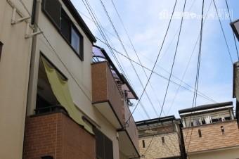 テラス屋根修理現場調査2