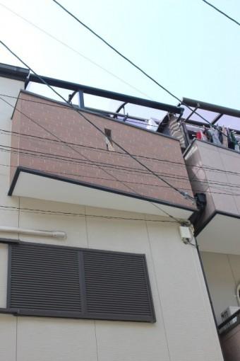 テラス屋根修理現場調査3