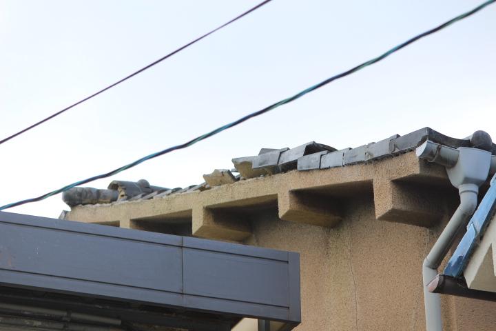 瓦屋根台風被害2