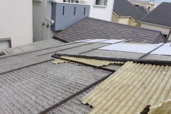 木製テラス屋根修理6