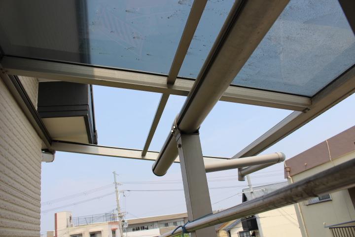 伊丹市テラス屋根修理3