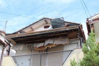 西宮市庇屋根修理1