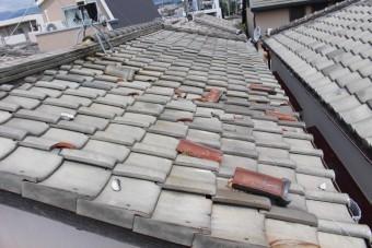 西宮市瓦修理2