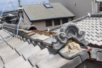 西宮市瓦修理1