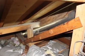 西宮屋根修理現場調査8