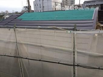 瓦から金属屋根へ