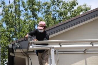 伊丹市テラス屋根修理5