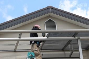 伊丹市テラス屋根修理7