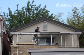 伊丹市テラス屋根修理6