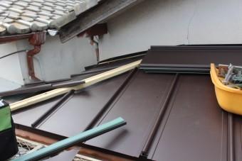 西宮市庇屋根修理11