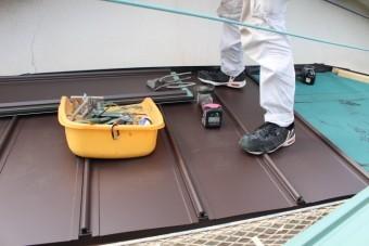 西宮市庇屋根修理12