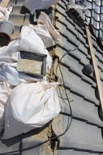 尼崎市瓦屋根棟修理5