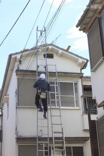 尼崎市瓦屋根棟修理3