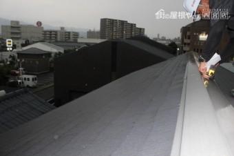 屋根カバー工事現調3