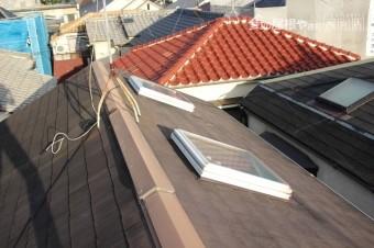天窓ガラス修理下見3