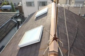 天窓ガラス修理下見5
