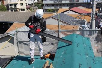 尼崎市屋根カバー工事7