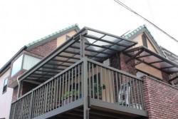 テラス屋根修理施工前1