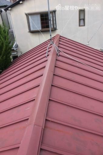 金属板屋根