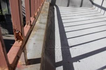 外壁修理現場調査3