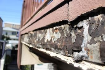 外壁修理現場調査6