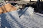 屋根カバー工事現場調査1