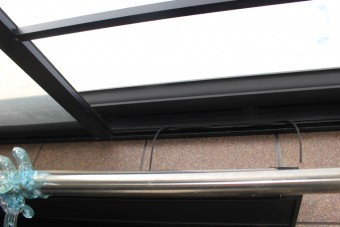 テラス屋根ポリカ板修理5