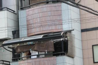 テラス屋根ポリカ板修理2